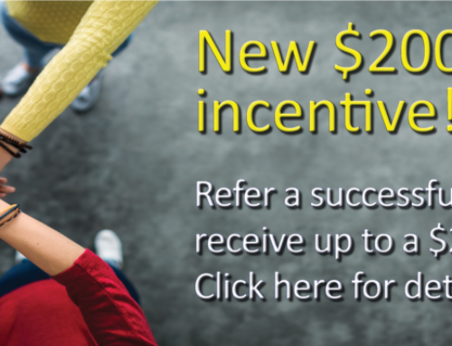 Referral Incentive is Doubled